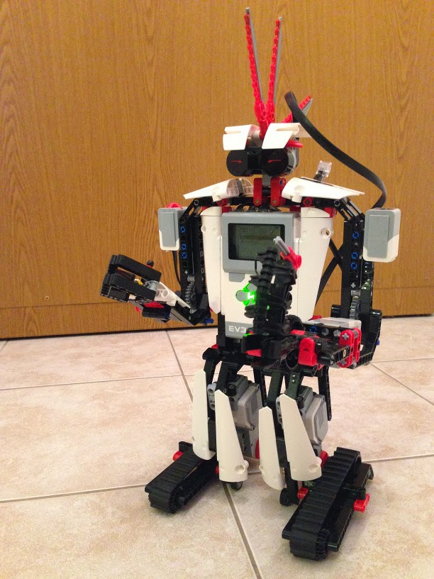 home robotics shooting robot ev3rstorm