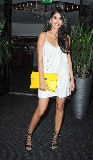 Jasmin Walia at Sakana Restaurant in Manchester