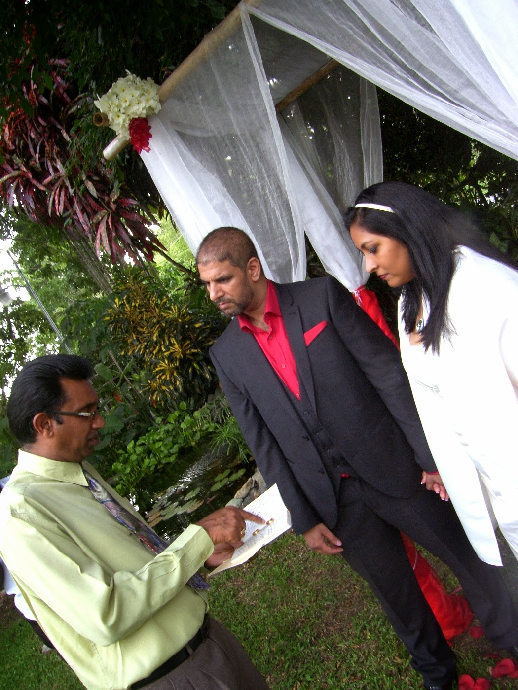 Courland villa wedding Tobago