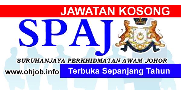Jawatan Kerja Kosong Suruhanjaya Perkhidmatan Awam Johor (SPAJ) logo www.ohjob.info terbuka sepanjang tahun 2015