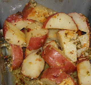 Parsley and Garlic Roasted Potatoes