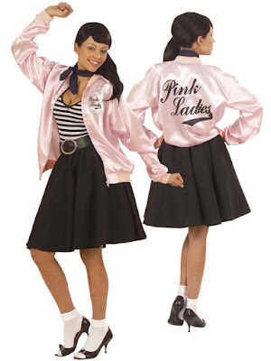 Grease jakke Pink Ladies
