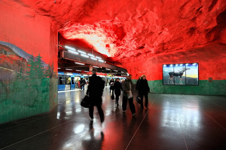 My Album The Beauty Of Stockholm Metro Subway In Sweden