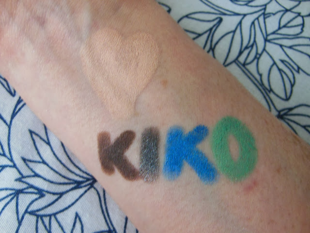 Kiko Digital Emotion eye shadow stick collection swatches