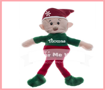 Christmas Boy Elf Plush