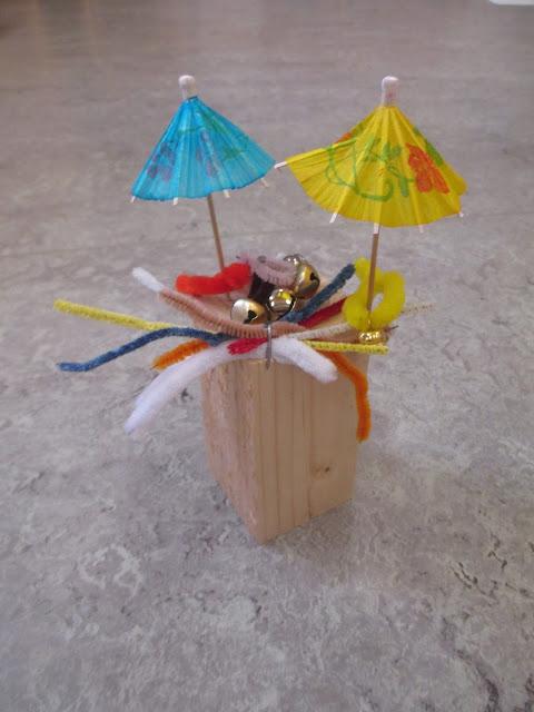 Kinder arbeiten mit Holz Ideen