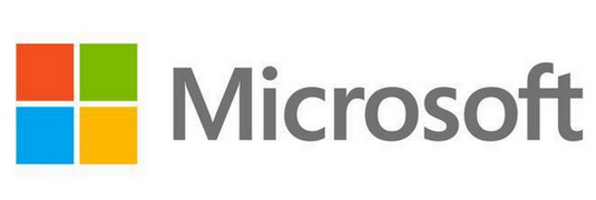 new logo microsoft corporation