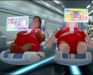 Fat people from Wall-e