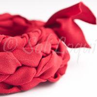 braccialetto fettuccia finger crochet