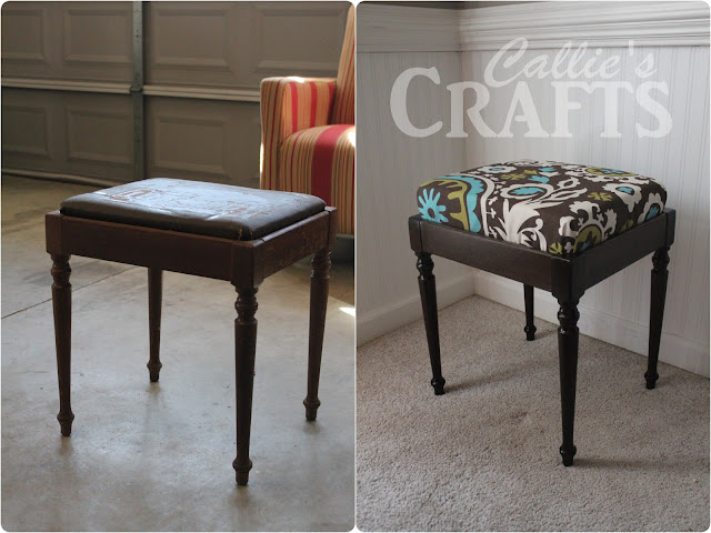 Premier Prints, Singer Sewing Stool, Min Wax Ebony