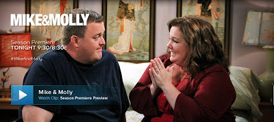 Mike and Molly, CBS, Billy Gardell, Melissa McCarthy
