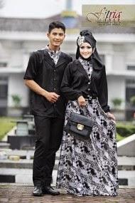 Desain Baju Muslim Terbaru Untuk Pasangan