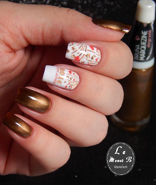 nail art de ano novo