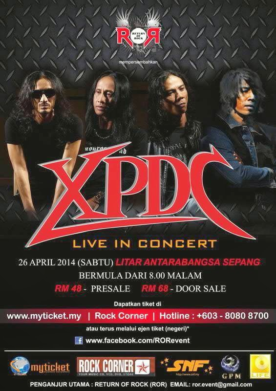 XPDC Live In Concert 2014