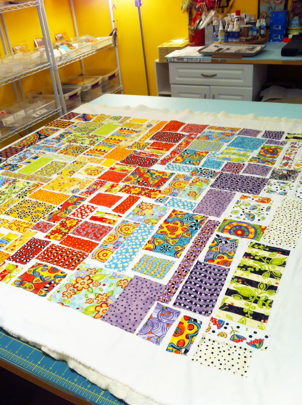 Jennifer Jangles Blog: Ticker Tape Quilt : ticker tape quilts - Adamdwight.com