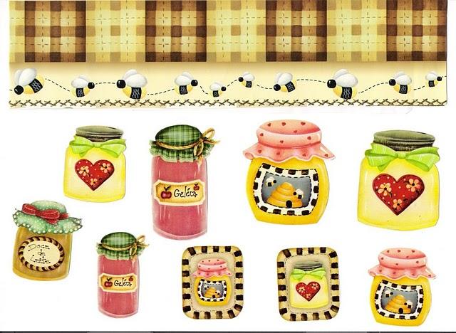 Etiquetas para decorar botes mermelada - Imagenes de cocinas para imprimir ...