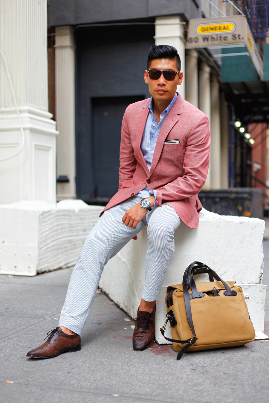 Levitate Style Linen NYFWM | Summer Linen Summer Style feat. J.Crew, The Tailory NY & Paul Drish
