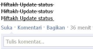 Update Status FB