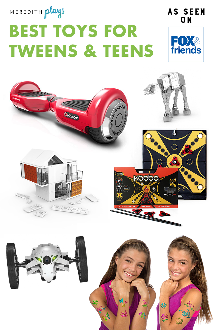 Popular Teenage Toys : Meredith plays the best toys and games for tweens teens