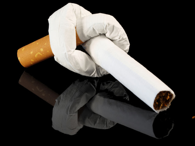 smoking is bad habit stop it