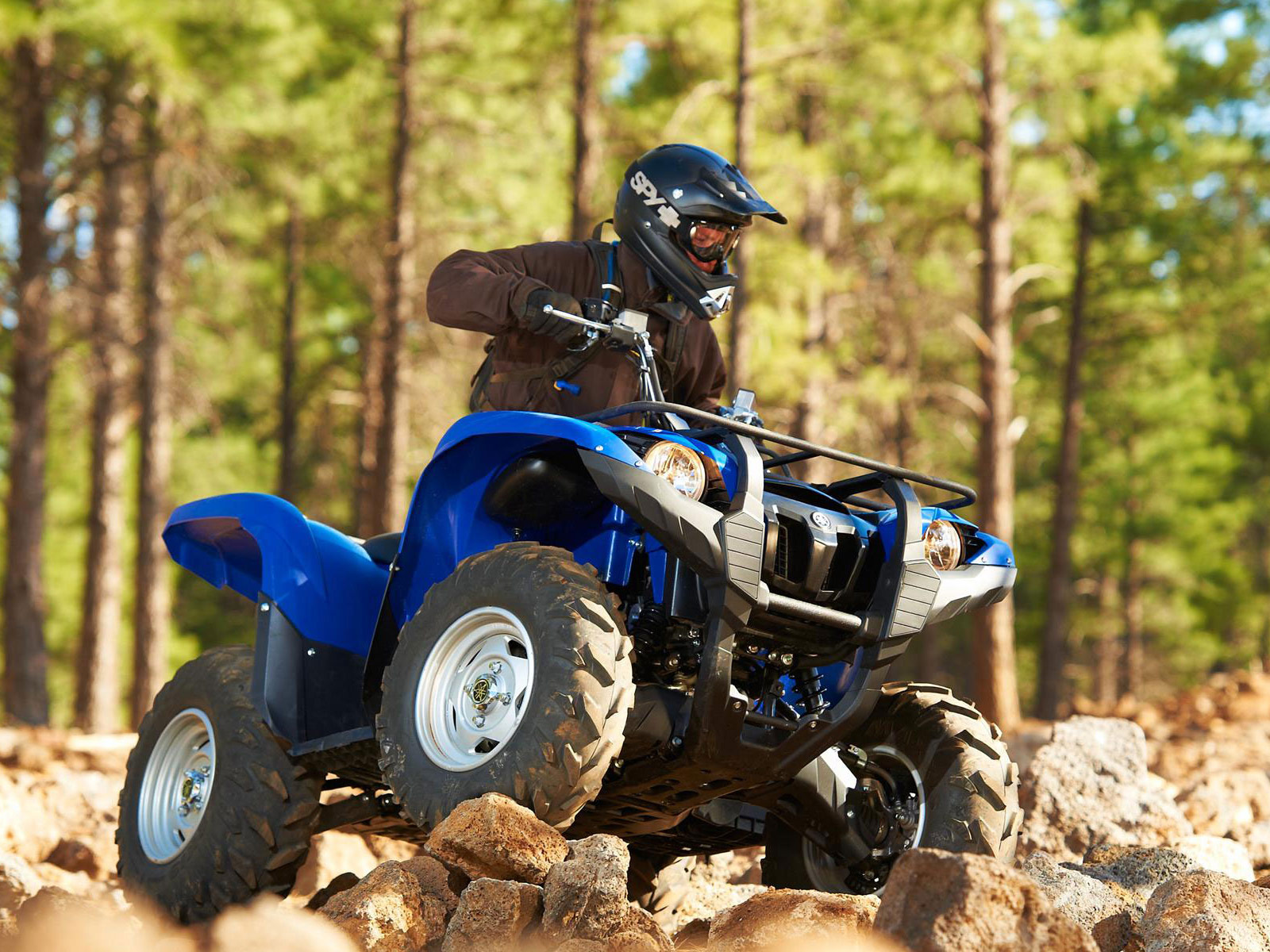2013 Yamaha Grizzly 450 Auto 4x4 EPS ATV PICTURES and specs