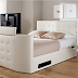 Atlantis Leather Ottoman TV Bed