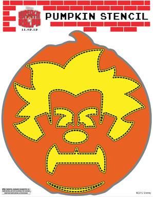#WreckItRalph, Wreck It Ralph, masks, stencils