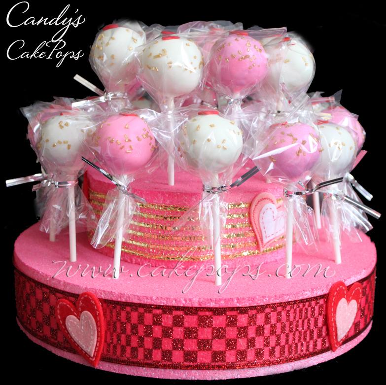 Candy's Cake Pops: Heart Shaped Cake Pops - Valentine's ...