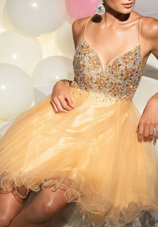 ball gown cocktail dress