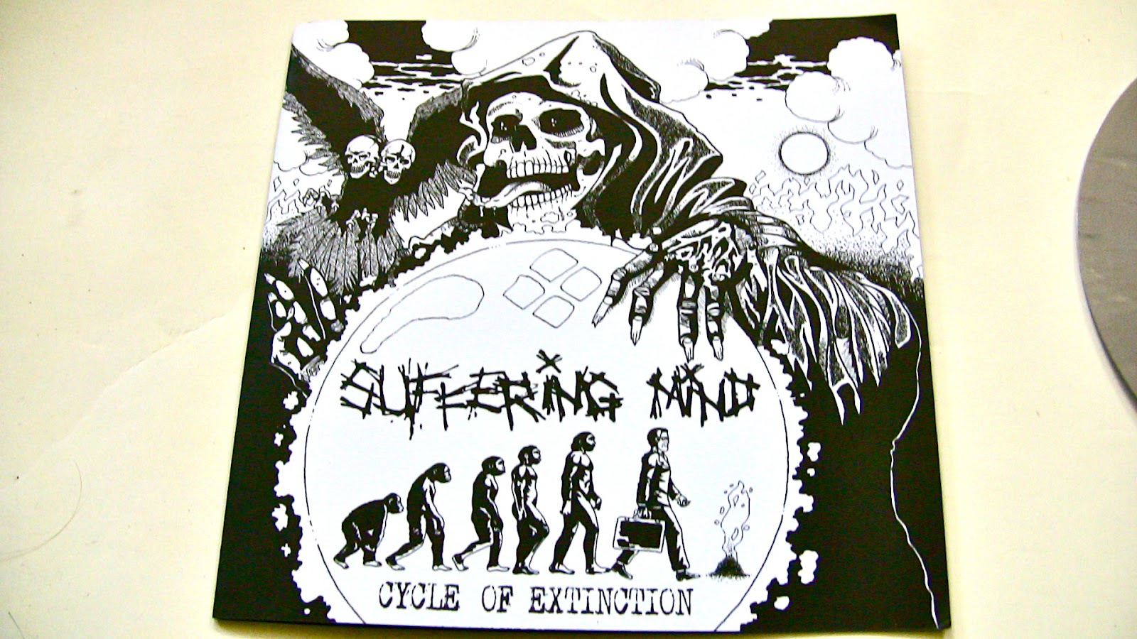 Lycanthrophy / Suffering Mind - Too Late To Survive / Cycle Of Extinction