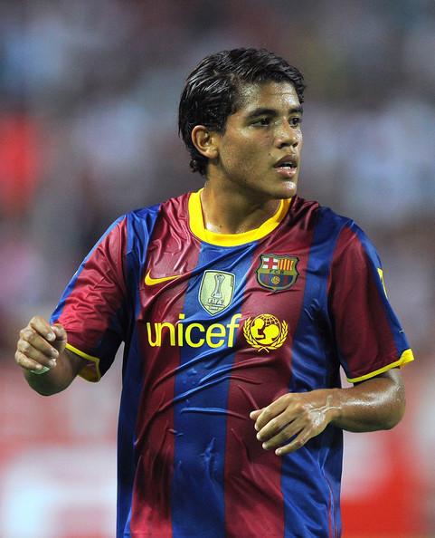 Giovani Dos Santos Jersey For Barcelona Dos Santos From Barcelona