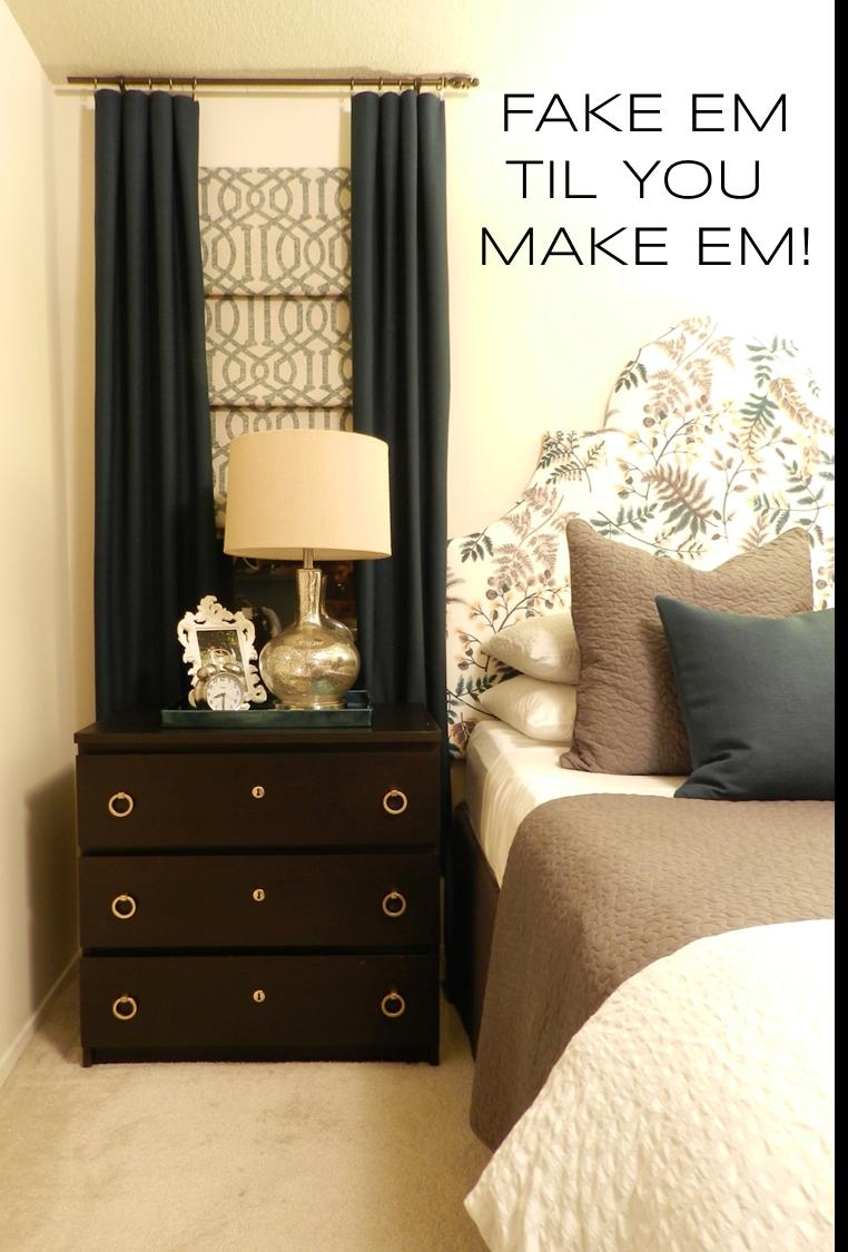 Master Bedroom Update Window Treatment Cohesive Randomness