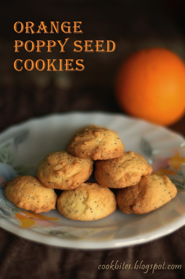 My Lil Kitchen: Orange Poppy Seed Cookies