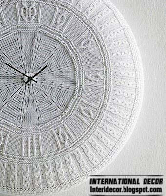 Unusual Wall Clocks With Your Hands Diy Wall Clock Ideas 2014