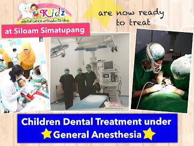 pPerawatan gigi anak dengan bius umum