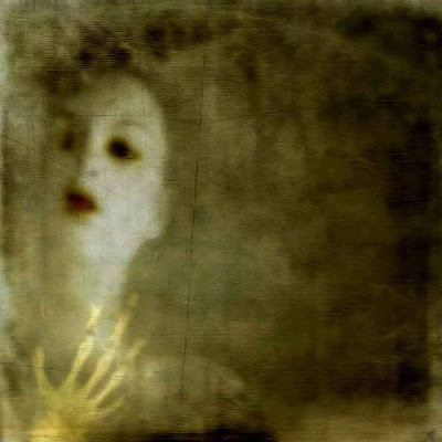 female ghost or ghostly figure