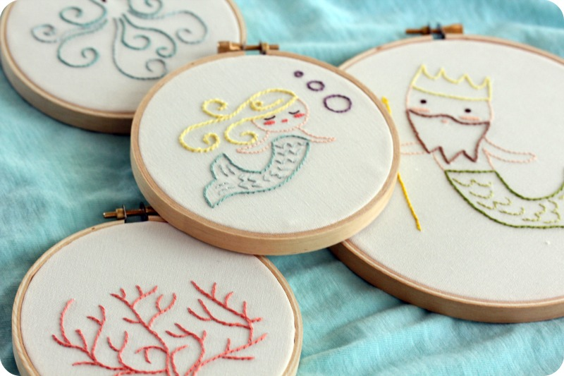 little lovelies: embroidery Cute Embroidery
