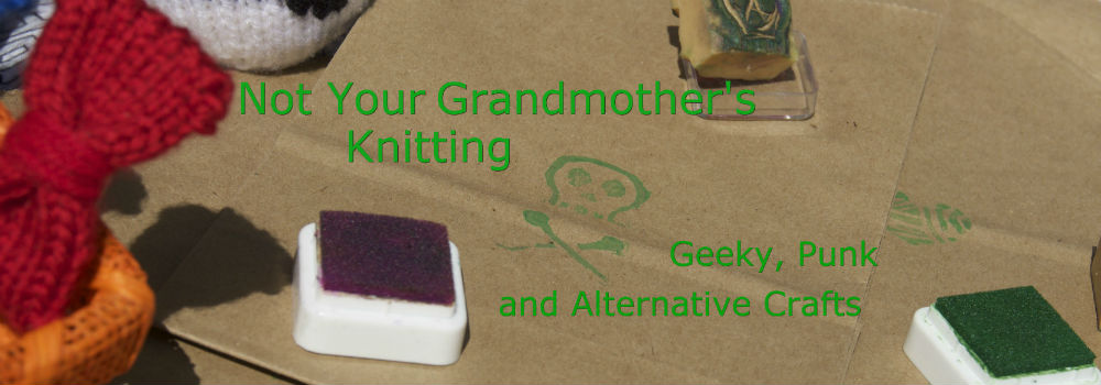 Not Your Grandmother`s Knitting