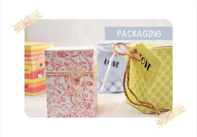packaging personalizado romantico