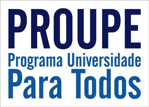 PROUPE - Programa Universidade para Todos em Pernambuco disponibiliza 500 bolsas