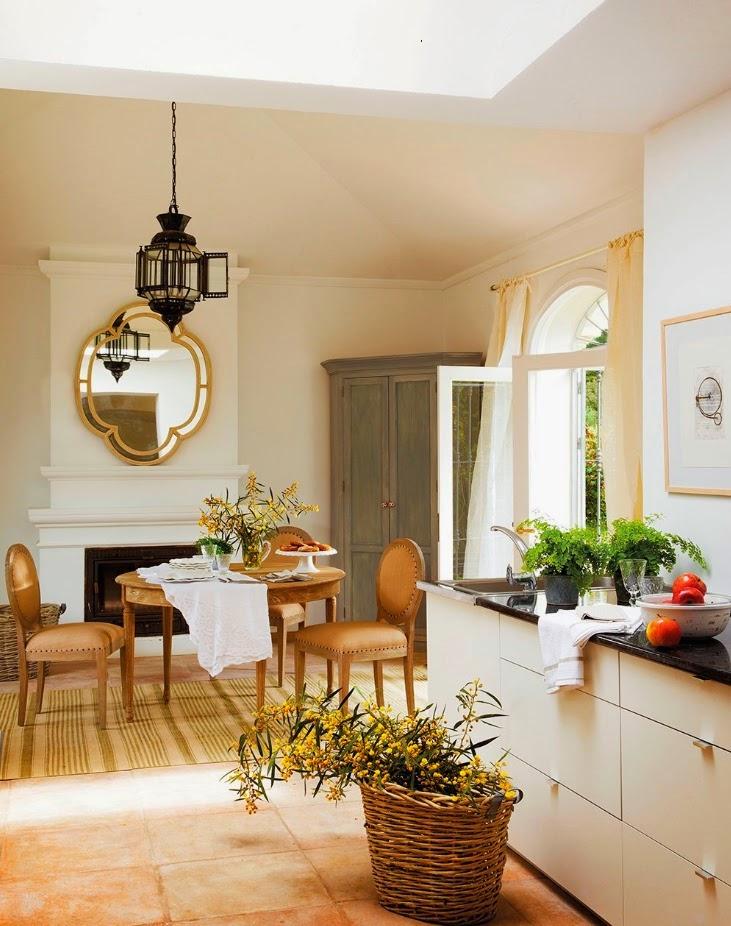Shabby and charme una bellissima casa spagnola for Piani di casa di villa spagnola