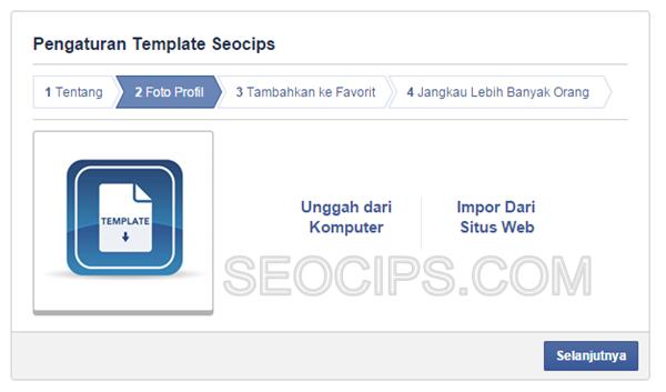 Cara Membuat Fanspage Facebook Langkah 5