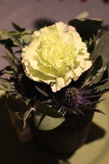 blomma, blomsterarrangemang, nejlika, advent