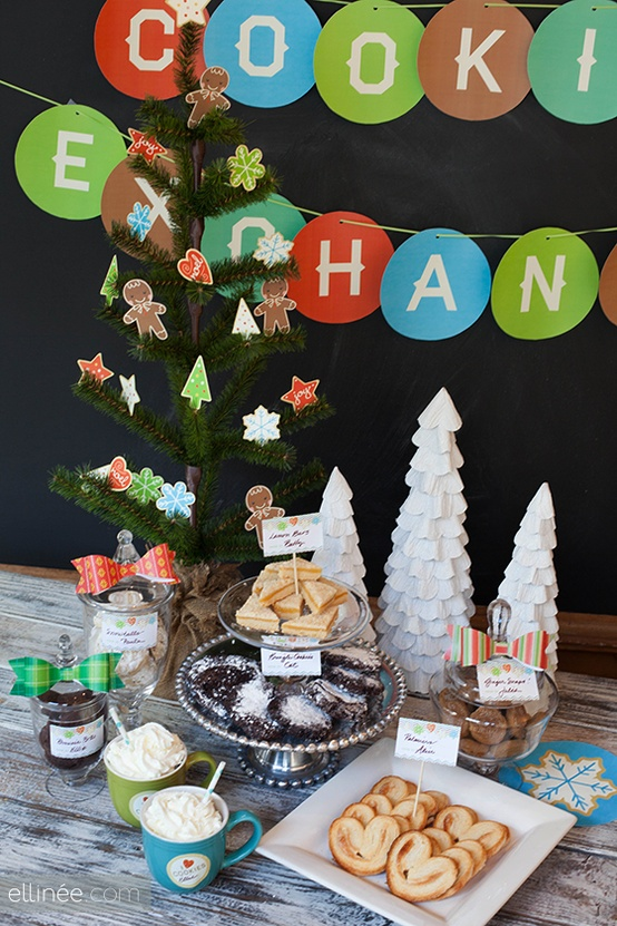 Ellinee free cookie exchange printables
