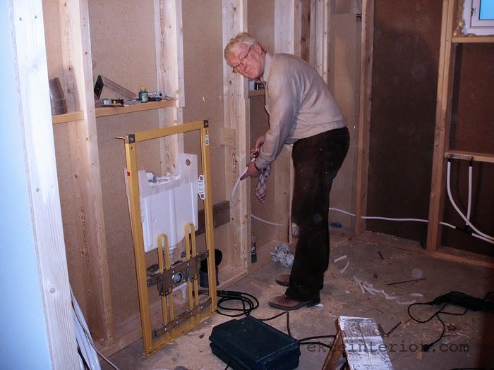 """Ekte interiØr: huset restaureringen del 15 """"et baderom blir til"""""""