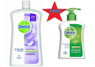 Ebay : Buy Dettol Sensitive Handwash Pump 900ml with Extra 100 Off which is worth Rs.240 at Rs.140 Only – BuyToEarn