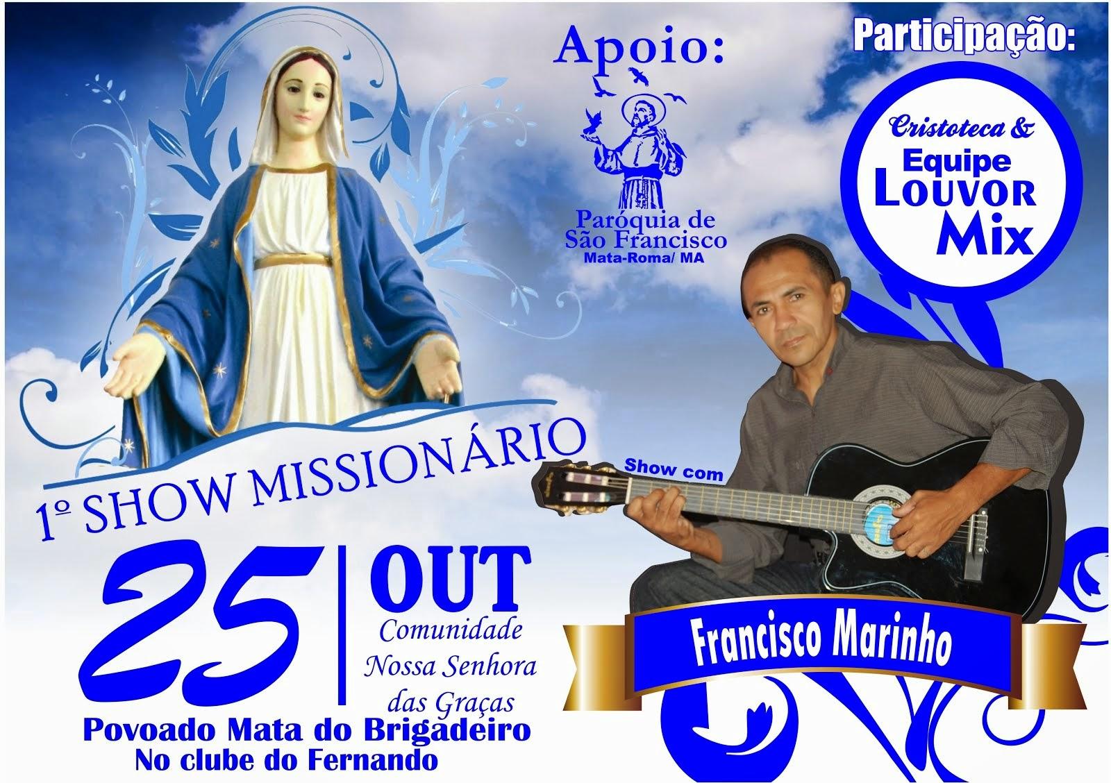 Show com Francisco Marinho