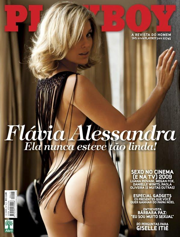 Fotos Sensuais Da Lind Ssima Flavia Alessandra Na Capa Playboy Brasil