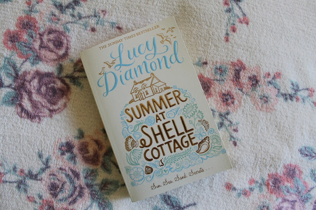 Book Review Summer At Shell Cottage by Lucy Diamond