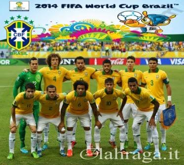 Tim Peserta Piala Dunia 2014 (Brazil)